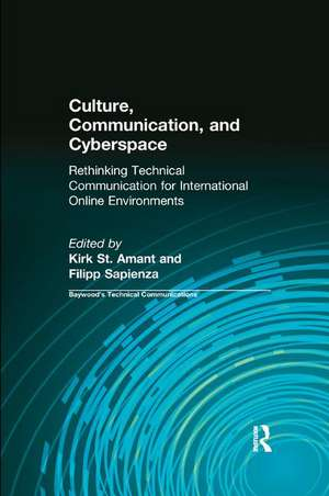 Culture, Communication and Cyberspace