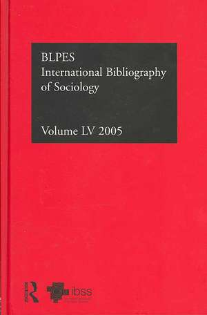 Ibss:  International Bibliography of the Social Sciences de British Library