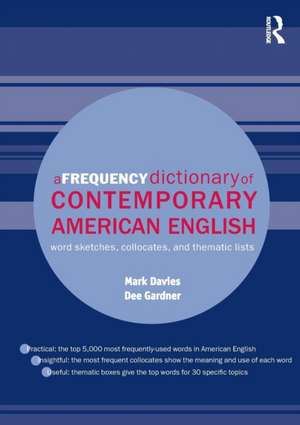 A Frequency Dictionary of Contemporary American English imagine
