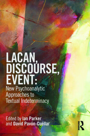 Lacan, Discourse, Event