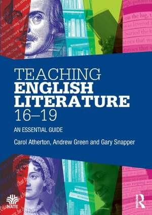 Teaching English Literature 16-19 imagine