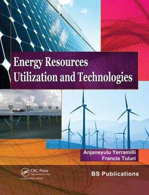 Energy Resources, Utilization & Technologies imagine
