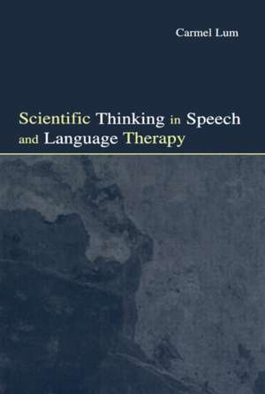 Scientific Thinking in Speech and Language Therapy imagine
