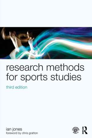 Research Methods for Sports Studies imagine