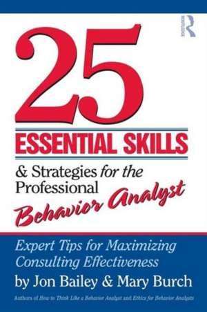 25 Essential Skills & Strategies for the Professional Behavior Analyst imagine