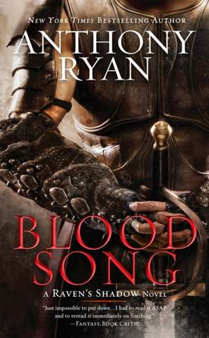 Blood Song de Anthony Ryan