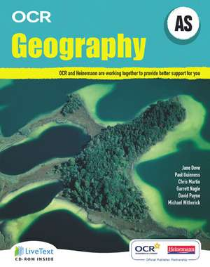Dove, J: AS Geography for OCR Student Book with LiveText for