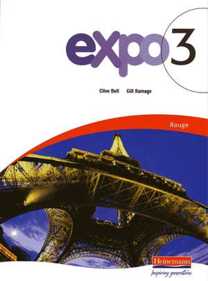 Expo 3 Rouge Pupil Book