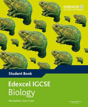 Edexcel International GCSE Biology Student Book with ActiveBook CD de Philip Bradfield