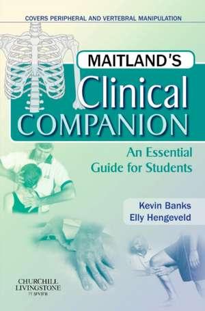 Maitland's Clinical Companion