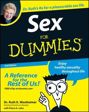 Sex For Dummies de Dr. Ruth K. Westheimer