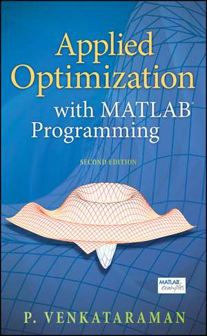 Applied Optimization with MATLAB Programming imagine
