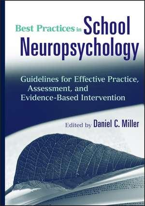 Best Practices in School Neuropsychology imagine