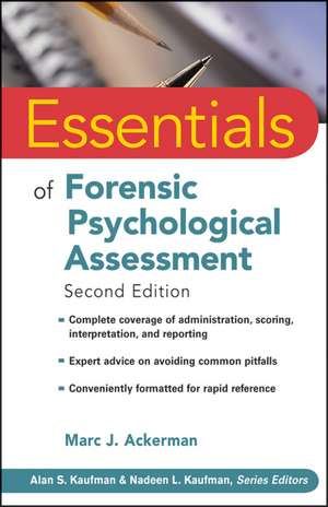 Essentials of Forensic Psychological Assessment imagine