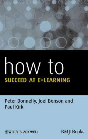 How to Succeed at E–learning
