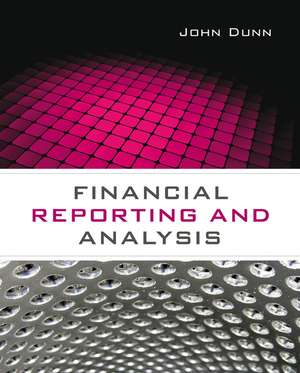 Financial Reporting and Analysis imagine