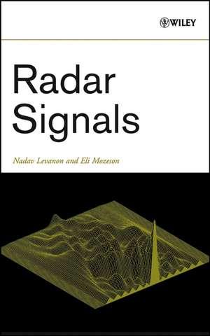 Radar Signals de Nadav Levanon