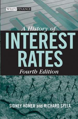 A History of Interest Rates de Sidney Homer
