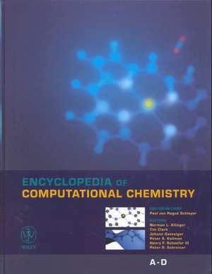 Encyclopedia of Computational Chemistry: 5 Volume Set de Paul von Rague Schleyer