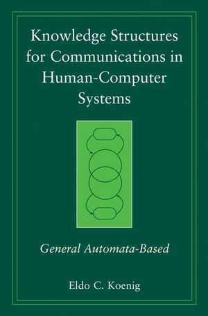 Knowledge Structures For Communications In Human-c