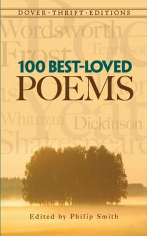 100 Best-Loved Poems de Philip Smith