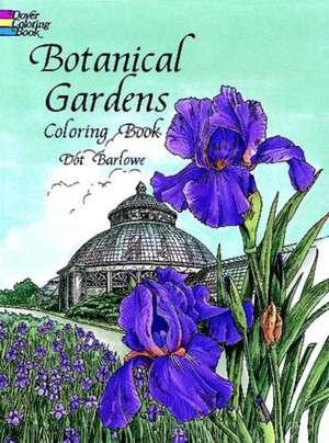 Botanical Gardens Coloring Book imagine