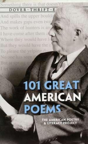 101 Great American Poems de Andrew Carroll
