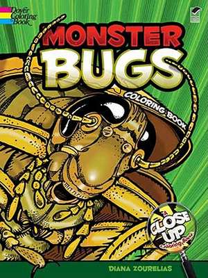 Monster Bugs Coloring Book