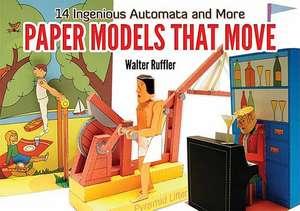 Paper Models That Move imagine