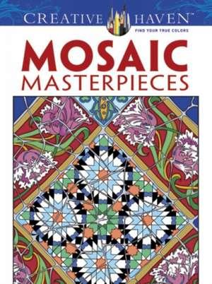 Creative Haven Mosaic Masterpieces Coloring Book