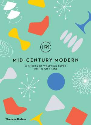 Ambler, F: Mid-Century Modern: Giftwrapping Paper Book