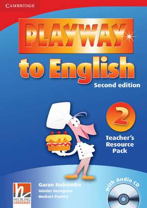 Playway to English Level 2 Teacher's Resource Pack with Audio CD de Günter Gerngross