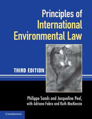 Principles of International Environmental Law imagine