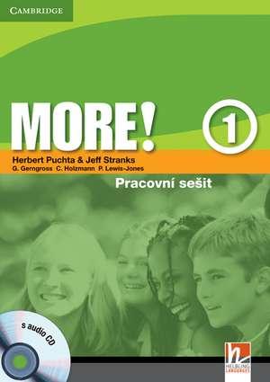 More! Level 1 Workbook with Audio CD Czech edition de Herbert Puchta