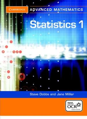 Statistics 1 for OCR de Steve Dobbs