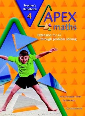 Apex Maths 4 Teacher's Handbook