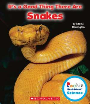 It's a Good Thing There Are Snakes de Lisa M. Herrington