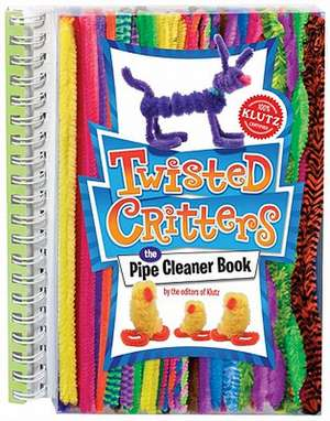 Klutz Twisted Critters: The Pipe Cleaner Book. With Pipe Cleaners de Klutz