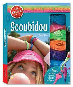Klutz. Scoubidou: A Book of Lanyard & Lacing [With 40 Yards of Cord, Key Rings, Lanyard Clips, Ruler and Big Beads, Small Beads, Toggle Beads]