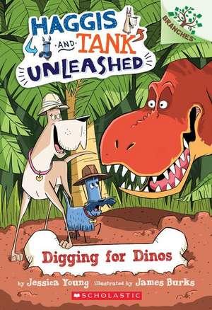 Digging for Dinos de Jessica Young