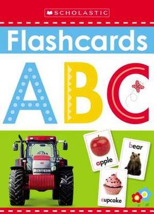 Write and Wipe Flashcards:  ABC de Inc. Scholastic