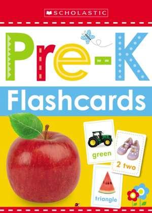 Flashcards - Get Ready for Pre-K (Scholastic Early Learners):  Get Ready for Pre-K (Scholastic Early Learners) de Inc. Scholastic