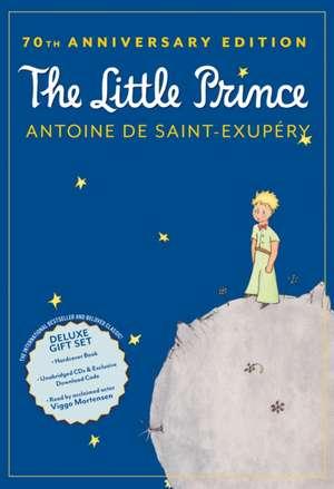 The Little Prince 70th Anniversary Gift Set (Book/CD/Downloadable Audio) de Antoine de Saint-Exupéry