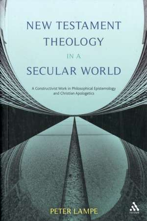 New Testament Theology in a Secular World imagine