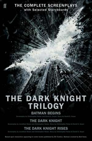 The Dark Knight Trilogy de Christopher Nolan