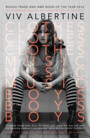 Clothes, Clothes, Clothes. Music, Music, Music. Boys, Boys, Boys
