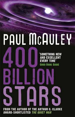 400 Billion Stars de Paul McAuley