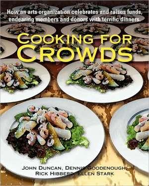 Cooking for Crowds de John Duncan