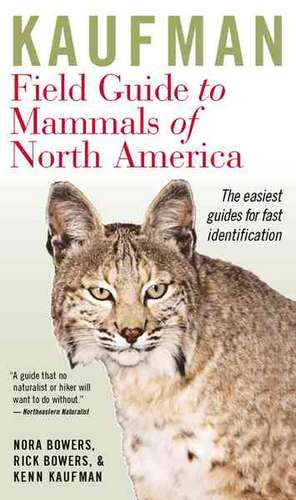 Kaufman Field Guide to Mammals of North America de Kenn Kaufman