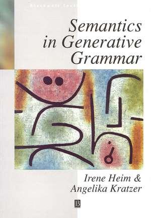 Semantics in Generative Grammar imagine